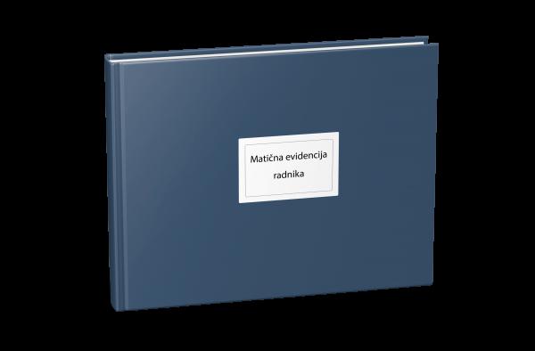 Evidencija o radnicima – matična evidencija kod poslodavca
