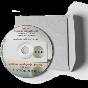 CD Nacrt tenderske dokumentacije za nabavku električne energije + dodatna pojašnjenja