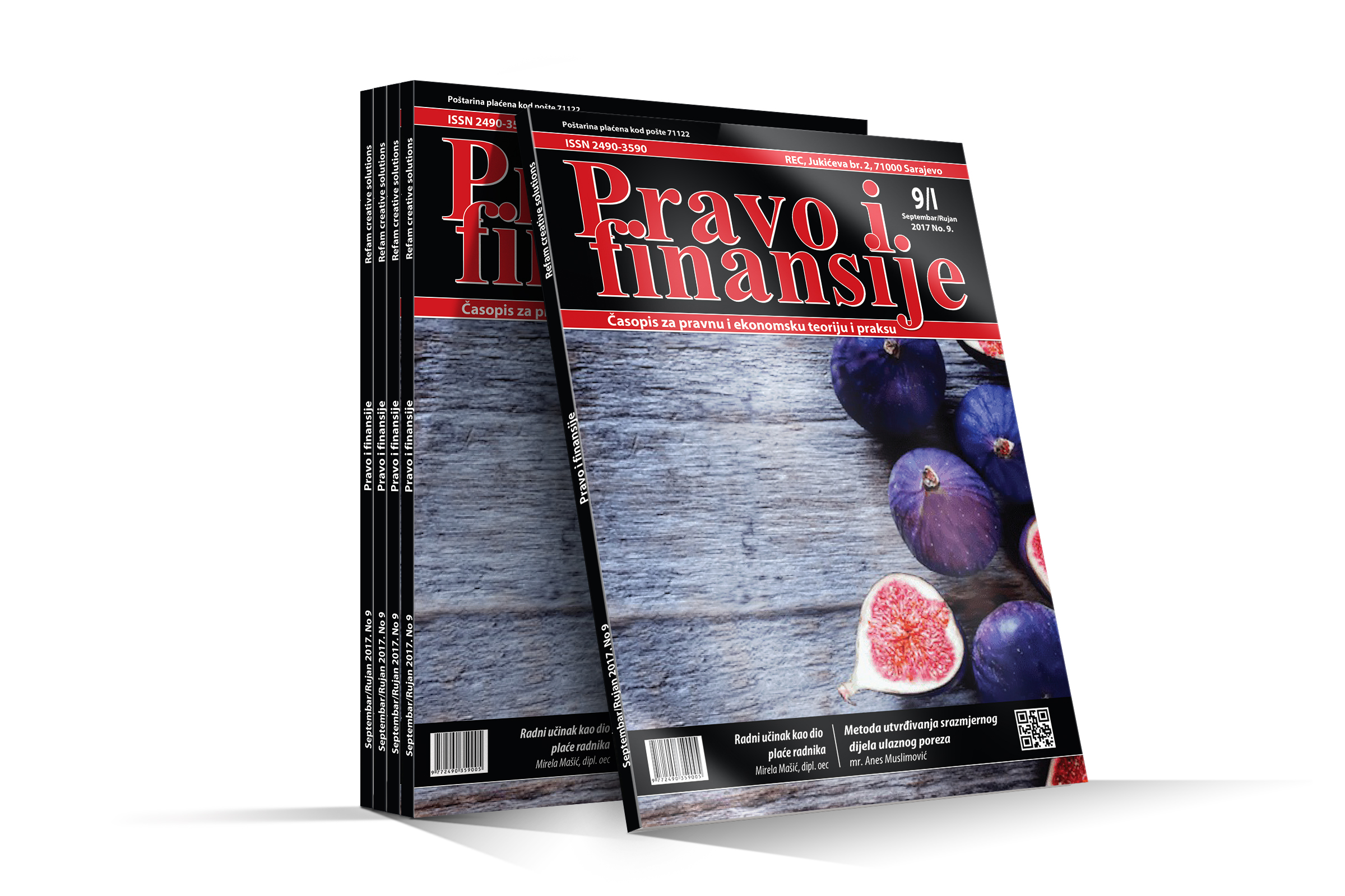 "Časopis ""Pravo i finansije"" Sadržaj: Pravo i finansije 09-2017"