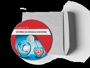 """CD Brošura Broj 11 """"Kriteriji za dodjelu ugovora"""""""