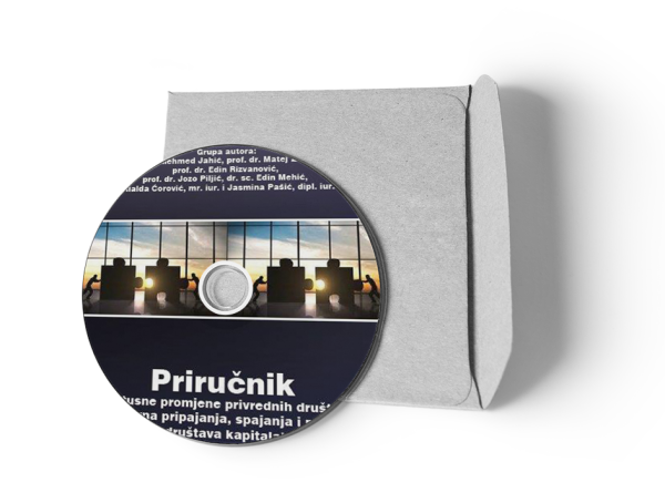 CD Priručnik – Statusne promjene privrednih društava