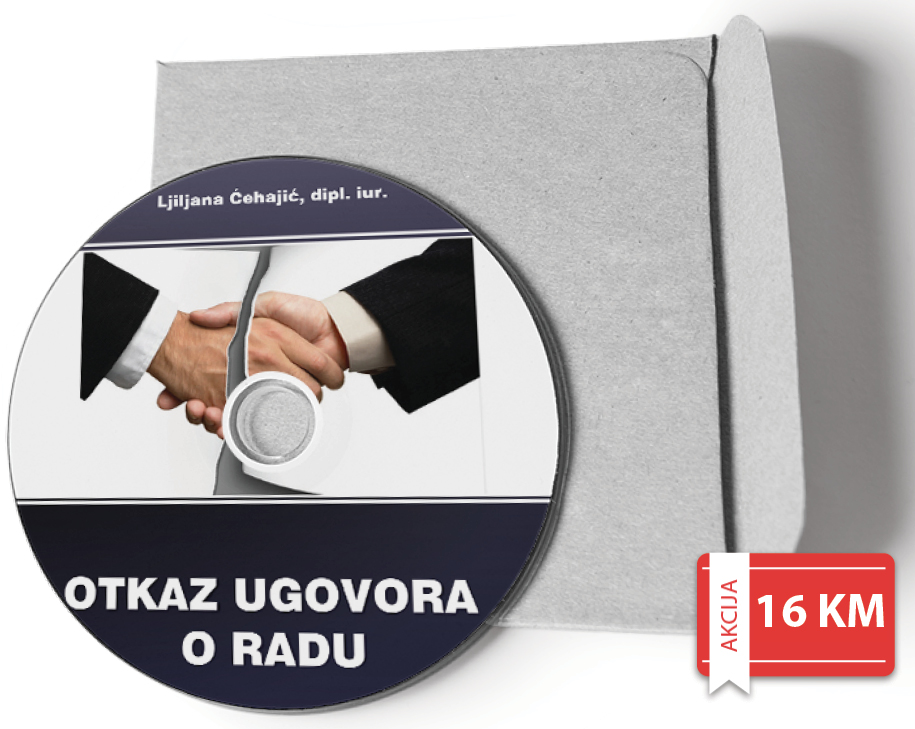 Priručnik Otkaz ugovora o radu