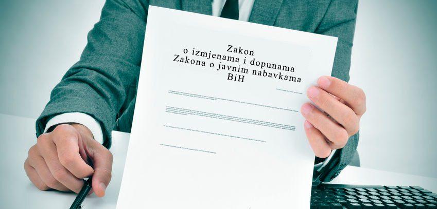 Zakon o izmjenama i dopunama Zakona o javnim nabavkama BiH